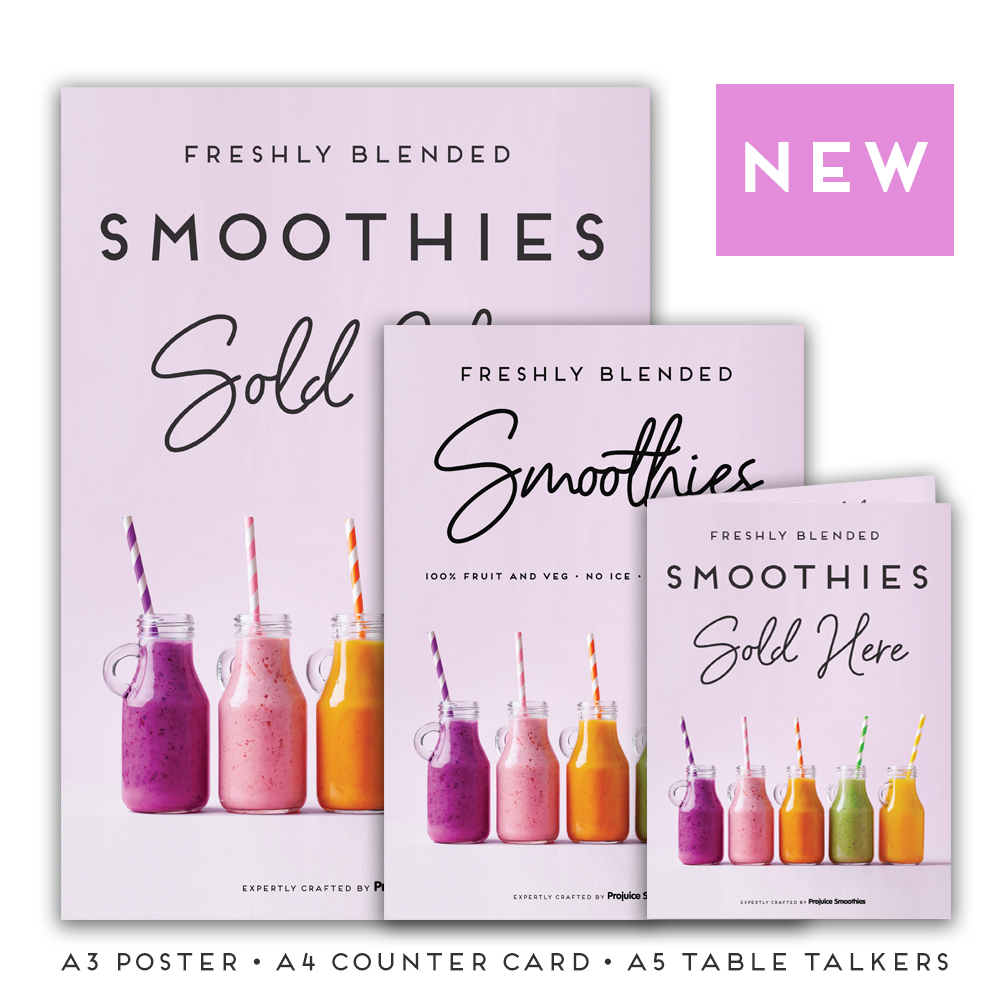 Free Smoothies Promotional Pack