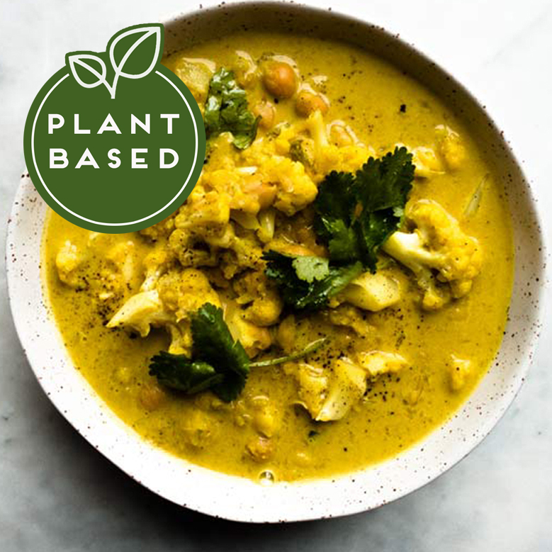 Cauliflower Turmeric and Ginger Soup
